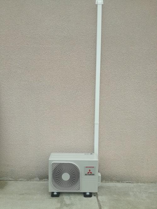 Caisson de protection unité extérieure climatisation